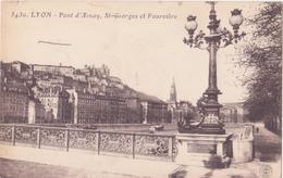 CPA - 5430. LYON - Pont D'alnay, St Georges Et Fourvières - Lyon 1