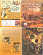 Gibraltar 2004 Euro Pattern Set In Folder, Eur 3.88 - Gibraltar