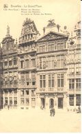 Bruxelles - CPA - Brussel - Grand'Place - Maisons Des Merciers - Maison Des Bateliers - Marktpleinen, Pleinen