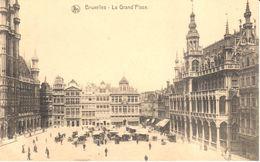 Bruxelles - CPA - Brussel - Grand'Place - Marktpleinen, Pleinen