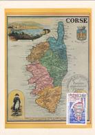Carte-Maximum FRANCE N° Yvert 2829 (CORSE) Obl Sp Ill 1er Jour (Ed Corsica 45) - Cartes-Maximum