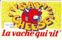 NEDERLAND CHIP TELEFOONKAART CRE 260.01a 1995 * LA VACHE QUI RIT * Telecarte A PUCE PAYS-BAS * ONGEBRUIKT MINT - Pays-Bas