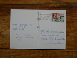Machinestempel, Slogan, Esperanto - Esperanto
