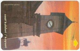 TURKEY B-048 Magnetic Telekom - View, Clocktower - Used - Turkey