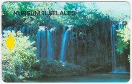 TURKEY B-104 Magnetic Telekom - Landscape, Waterfall - Used - Turkey