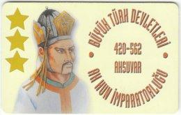 TURKEY B-165 Chip Telekom - Historic Ruler - Used - Turkey