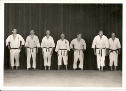 JUDO CLUB DE MONACO . MAITRE IMBERT .SALUT - Sports De Combat