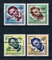 Haiti 1960 Weltflüchtlingsjahr Mi.Nr. 576/79 Kpl. Satz ** - Haiti