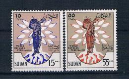 Sudan 1960 Weltflüchtlingsjahr Mi.Nr. 161/62 Kpl. Satz ** - Sudan (1954-...)
