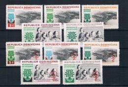 Dominikanische Rep. 1960 Weltflüchtlingsjahr Mi.Nr. 712/24 Kpl. Satz ** - Dominikanische Rep.