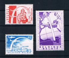 Belgien 1960 Weltflüchtlingsjahr Mi.Nr. 1206/08 Kpl. Satz ** - Belgien