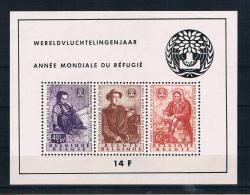 Belgien 1960 Weltflüchtlingsjahr Block 26 ** - Belgien