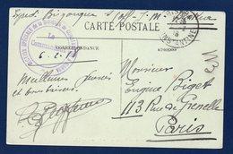 Cachet Section Spéciale De La Division De Constantine à Biskra . Février 1918 - Marcophilie (Lettres)