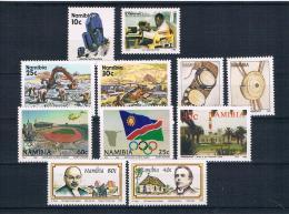 Nanibia Kleines Lot 11 Werte ** - Namibia (1990- ...)