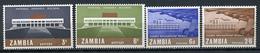 1967 - ZAMBIA  -  Mi. Nr. 30/33 - NH - (CW4755.22) - Zambia (1965-...)