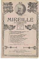THEATRE LYRIQUE MIREILLE OPERA EN 3 ACTES DE CH. GOUNOD CHANSON DU BERGER CHANTEE PAR Mme FAURE LEFEVRE PHOTO NADAR - Non Classés