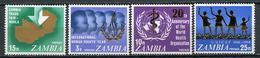 1968 - ZAMBIA  -  Mi. Nr. 34/38 - NH - (CW4755.22) - Zambia (1965-...)