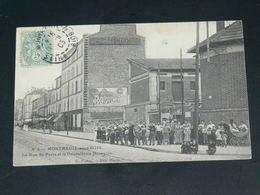 MONTREUIL   1905  /    RUE  .....  EDITEUR - Montreuil