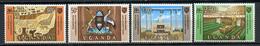 1967 - UGANDA -  Mi. Nr.  101/104 - NH - (CW4755.22) - Uganda (1962-...)