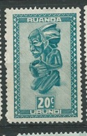 Ruanda - Urundi -  Yvert N°  156 **    Aab18621 - Ruanda-Urundi
