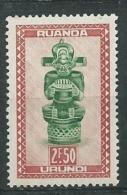 Ruanda - Urundi -  Yvert N°  165 **    Aab18625 - Ruanda-Urundi