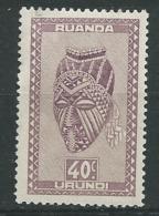 Ruanda - Urundi -  Yvert N°  158 **    Aab18626 - Ruanda-Urundi
