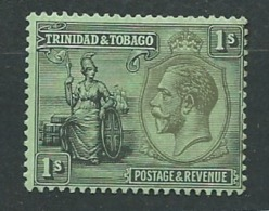 Trinité Et Tobago -  Yvert N°  117 *  ( Legere Rouseurs  Sur Quelques Dents Au Dos Très Légères )   Aab18634 - Trinité & Tobago (...-1961)