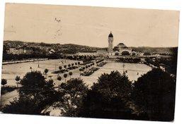 Tarjeta Postal De Limoges. Le Champ De Juillet. Circulada Con Censura Militar. - Limoges