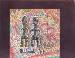 Tanzania  -  Hoja Bloque  Arte  -  6/6597 - Tanzania (1964-...)