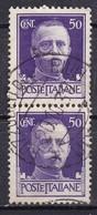 Regno D'Italia, 1929 - 50c Serie Imperiale, Coppia - Nr.251 Usato° - 1900-44 Vittorio Emanuele III
