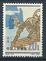 1962 CHINA SCIENTISTS OF ANCIENT TIMES 20F (8-8) O.G. MLH - 1949 - ... République Populaire