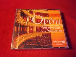 SELECTION DU READER'S DIGEST  °°  80 TITRES L'OPERA EN VERSION FRANCAISE    5 CD - Classique