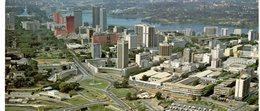 Abidjan Vue Panoramique Du Plateau Format Panorama 21x10 - Côte-d'Ivoire