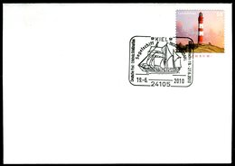 41085) BRD - Brief Mi 2683 - SoST 24105 KIEL Vom 19.06.2010 - Segelschiff Thor Hagerdahl - BRD