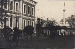 CPA Carte Photo Guerre 14 Armée D'Orient Soldat France En Macédoine Grèce Monastir Serbie 1917 Ravitaillement Vin - Macédoine