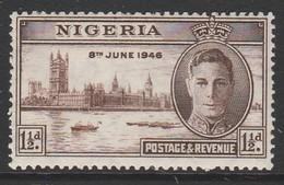Nigeria 1946 Victory 1½ D Multicoloured SW 72 * M/M - Nigeria (...-1960)