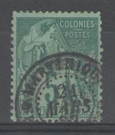 """Colonies Générales:  N°49 Oblitéré """"MARTINIQUE""""       - Cote 20€ - - Alphée Dubois"""