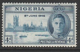 Nigeria 1946 Victory 4 D Multicoloured SW 73 * M/M - Nigeria (...-1960)