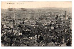 Tarjeta Postal De Limoges. Vue Generale. Circulada - Limoges