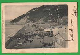 Chiavari 1905 Cantiere Navale Pronti Al Varo Marina Navi Navires Ships Schiffe Marine Navy - Paquebots