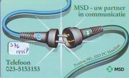 NEDERLAND CHIP TELEFOONKAART CRE 276 1995 * MSD - Uw Partner In Communica  * Telecarte A PUCE PAYS-BAS * ONGEBRUIKT MINT - Netherlands