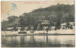 84 Nossi Bé Une Ferme  Edit Hassan Aly 1907 Vers Bordas Dordogne Chateau De Rossignol Flaujac De Roumejoux - Madagascar