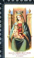 S 1521- SANTINO - MADONNA DELLE GRAZIE - LEGNANO - Religione & Esoterismo