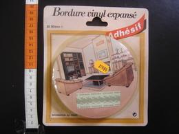 FRISE Ancienne BORDURE VINYL EXPANSE ADHESIF Vintage 10 Metres 27 Francs DECO - Loisirs Créatifs