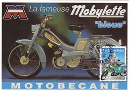 Carte-Maximum FRANCE N° Yvert 3472 (La MOBYLETTE) Obl Ord Pantin (Ed Centenaire) - 2000-09
