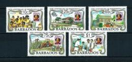 Barbados  Nº Yvert  820/4  En Nuevo - Barbados (1966-...)
