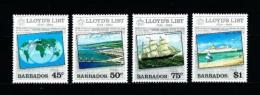 Barbados  Nº Yvert  596/9  En Nuevo - Barbados (1966-...)