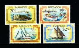 Barbados  Nº Yvert  552/5  En Nuevo - Barbados (1966-...)