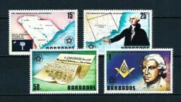 Barbados  Nº Yvert  413/16  En Nuevo - Barbados (1966-...)