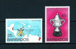 Barbados  Nº Yvert  411/12  En Nuevo - Barbados (1966-...)